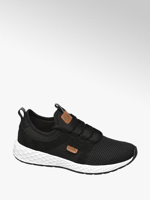 Bench Zwarte lightweight sneaker