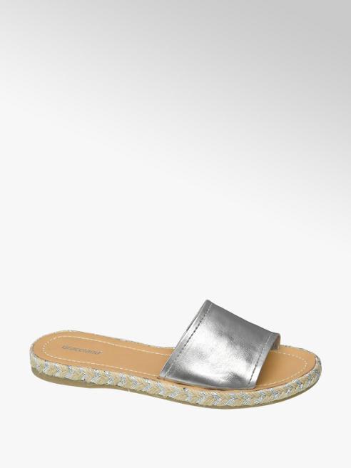 Graceland Zilveren slipper