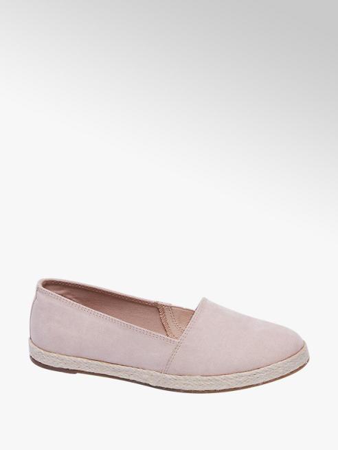 Graceland Roze espadrille touwzool