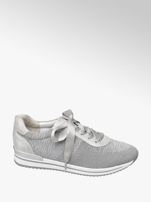 Medicus Grijze knitted sneaker