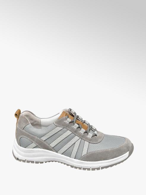Medicus Grijze suède comfort sneaker