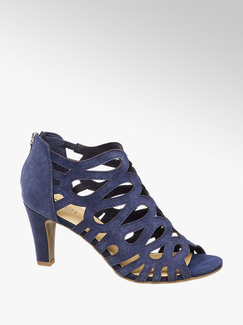 5th Avenue Blauwe sandalette suede