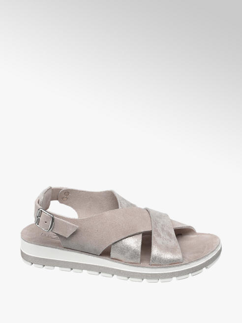 5th Avenue Roze sandaal leer