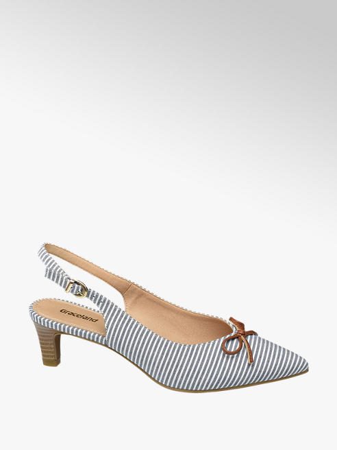 Graceland Дамски отворени обувки с ток