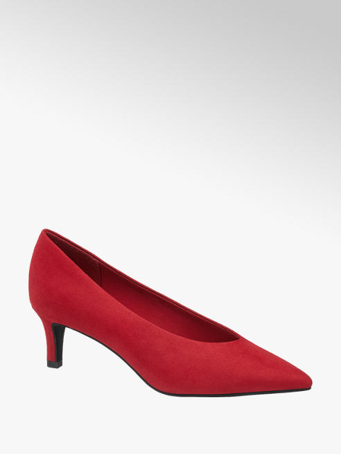Graceland Red High Front Court Shoes