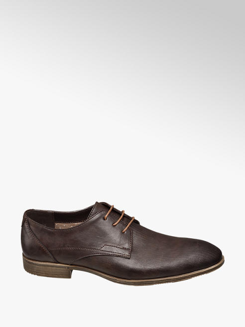 Venice Mens Brown Formal Lace-up Shoes