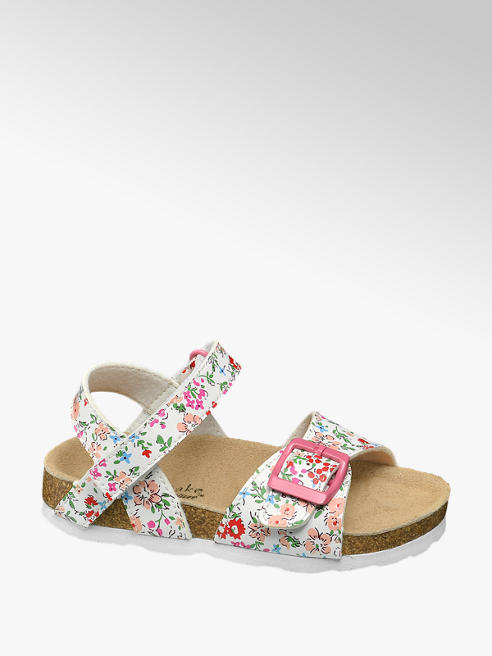 Cupcake Couture Witte sandaal bloemetjes
