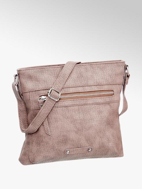 Graceland Oud roze schoudertas