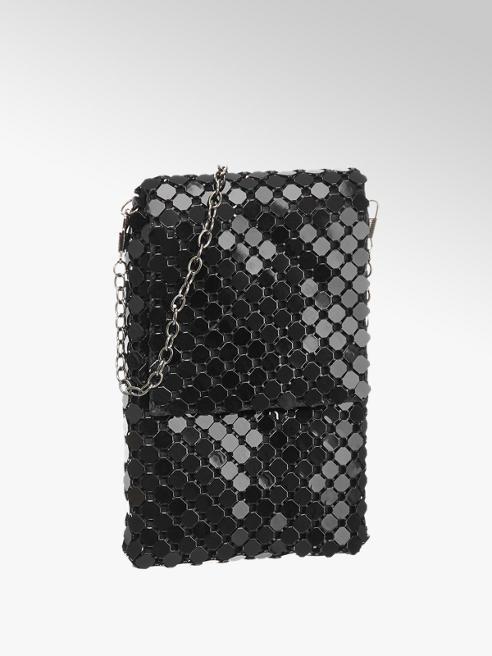 Graceland Fekete parti táska