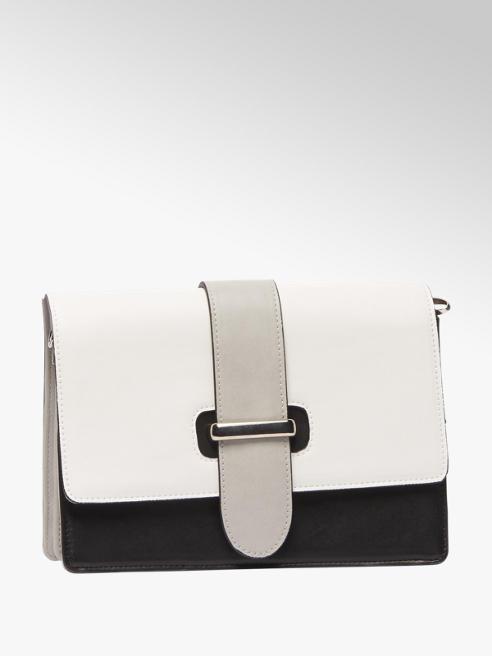 Catwalk Black and White Cross Body Bag