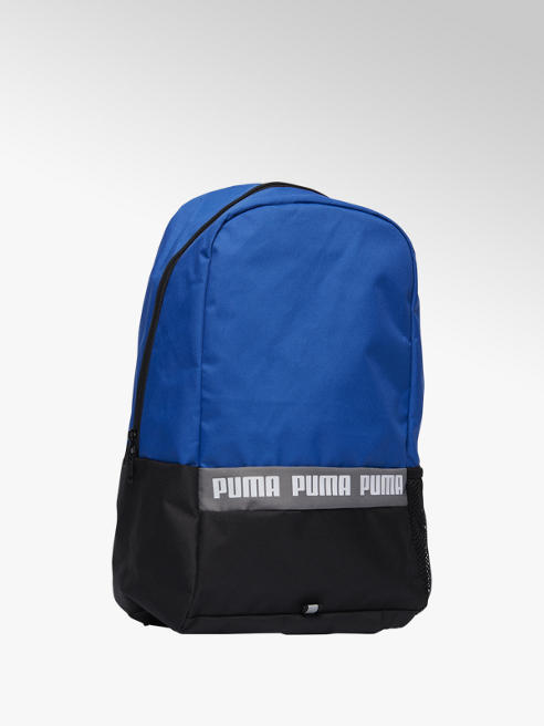 Puma Blauw/zwarte rugtas