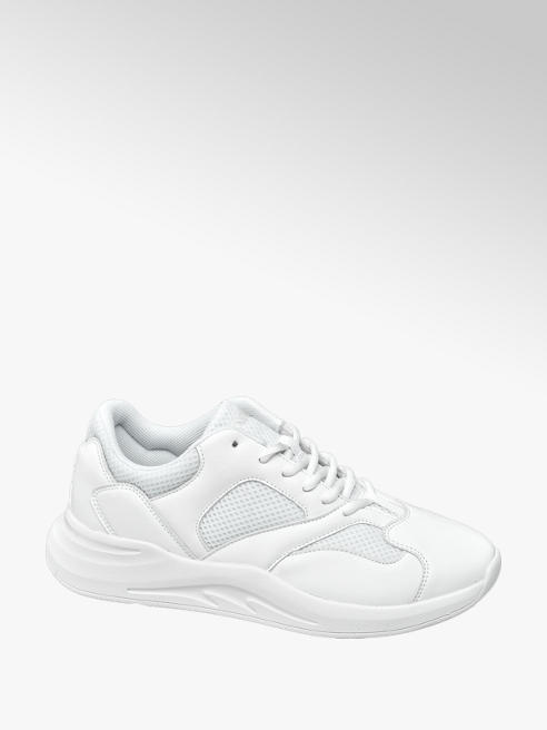 Venice Witte lightweight sneaker vetersluiting
