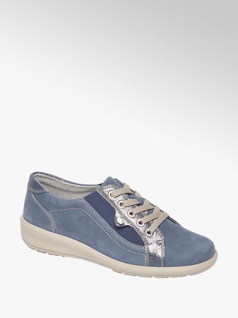 Medicus Blauwe leren comfort sneaker