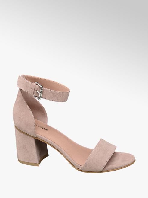 Graceland Roze sandalette gespsluiting