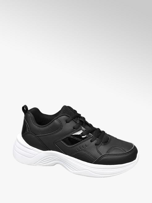 Graceland Zwarte chunky dad sneaker