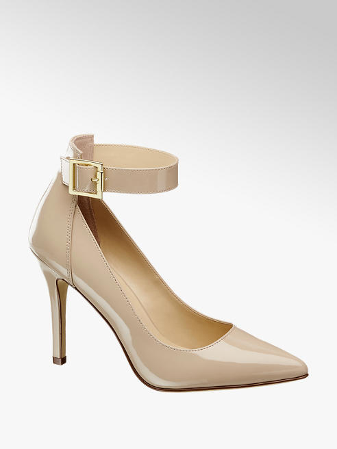 Graceland Ankelrem Pumps Lak-Look