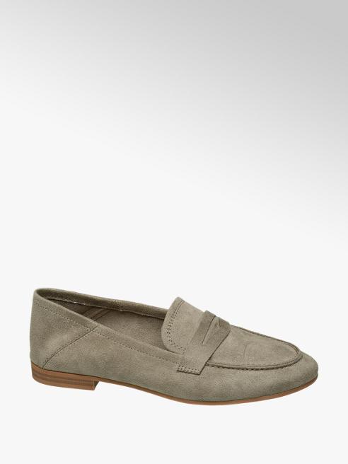 Graceland Olijf groene loafer