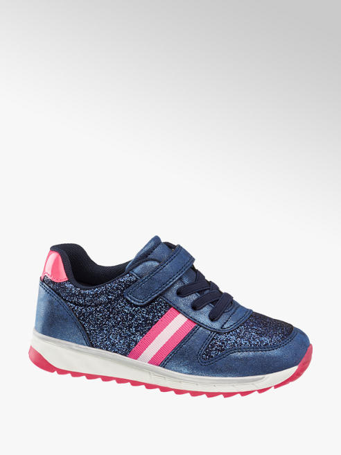 Cupcake Couture Blauwe sneaker glitters