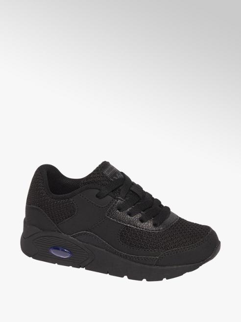 Zwarte sneaker vetersluiting