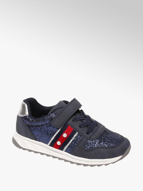 Graceland Blauwe sneaker glitters