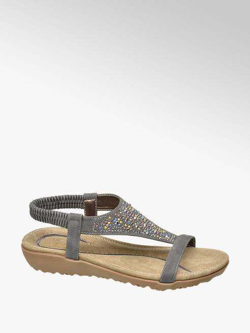 Björndal Grijze sandaal studs