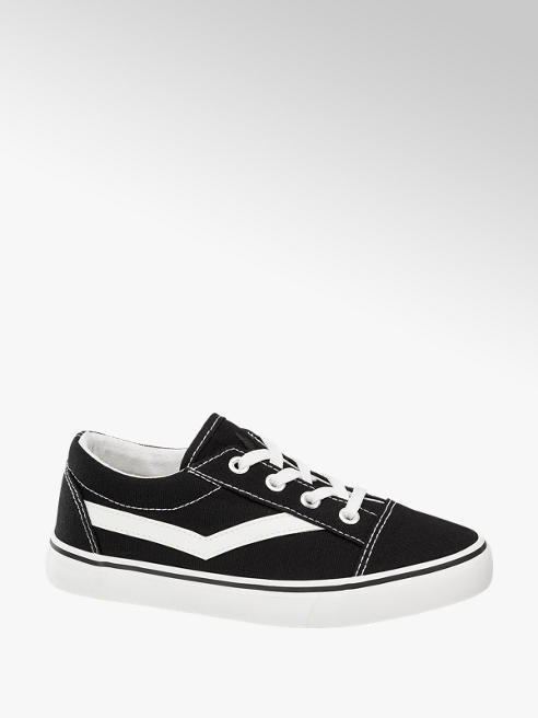 Vty Zwarte canvas sneaker