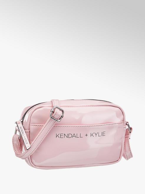 Kendall + Kylie Roze schoudertas lak