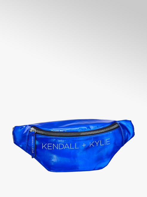 Kendall + Kylie Blauwe fannypack contrast