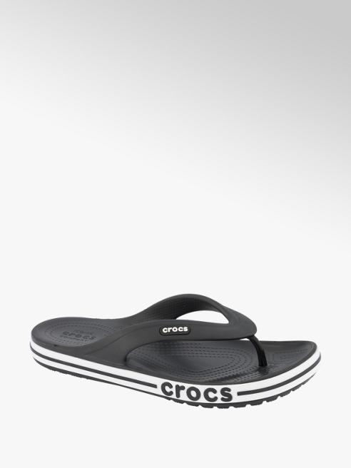 Crocs Zwarte teenslipper