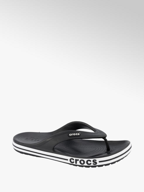 Crocs Zwarte teenslipper
