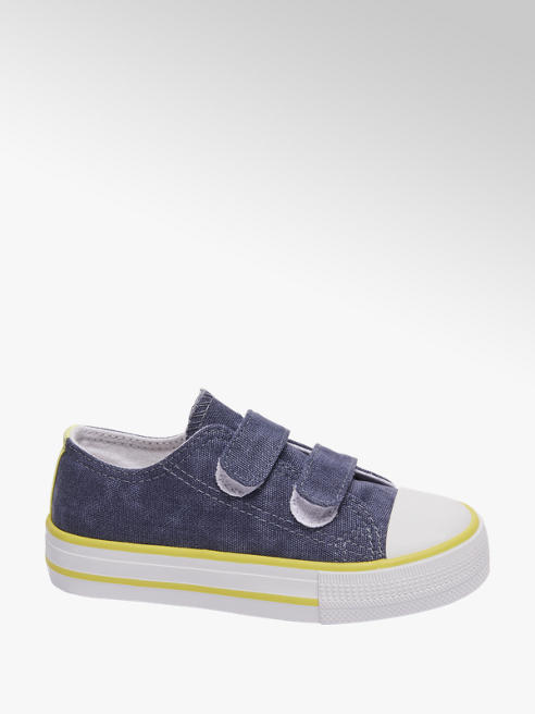 Bobbi-Shoes Canvas sneaker klittenband