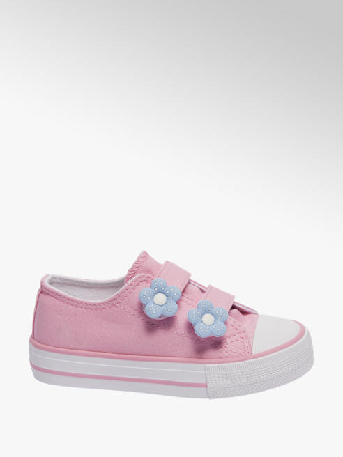 Cupcake Couture Roze canvas sneaker klittenband