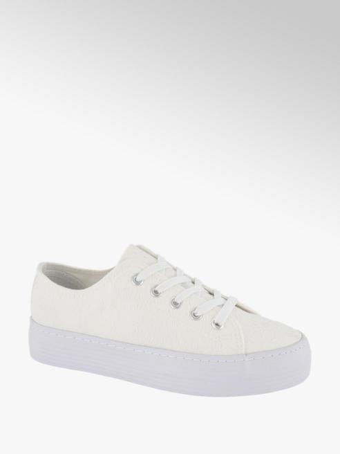 Vty Witte canvas sneaker