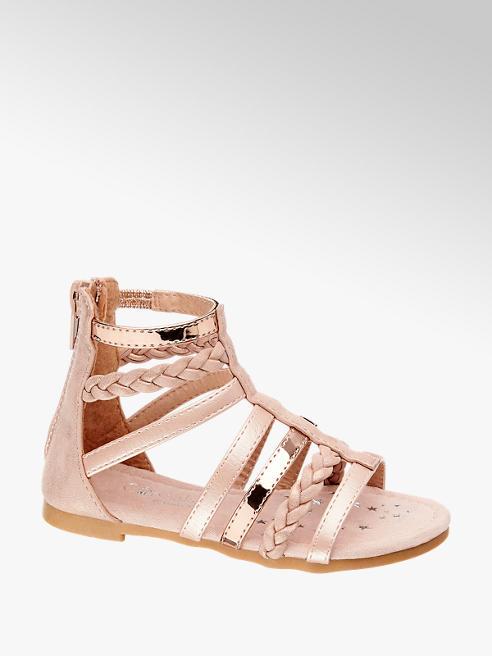 Cupcake Couture Zalmkleurige sandaal ritssluiting