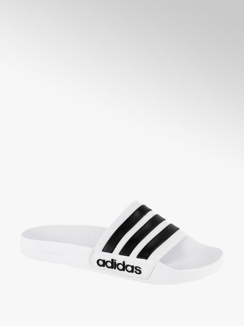 adidas Witte Adilette cloudfoam
