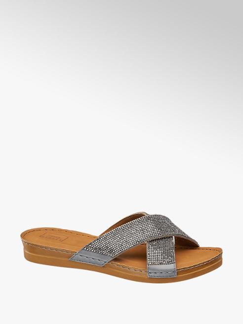 Björndal Zilveren sandaal kruisband