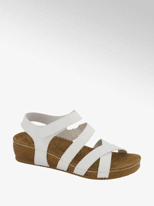 5th Avenue Witte sandaal leer
