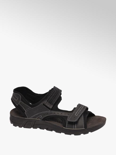 Björndal Zwarte sandaal klittenbandsluiting