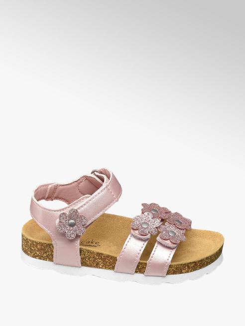 Cupcake Couture Roze sandaal velcrosluiting