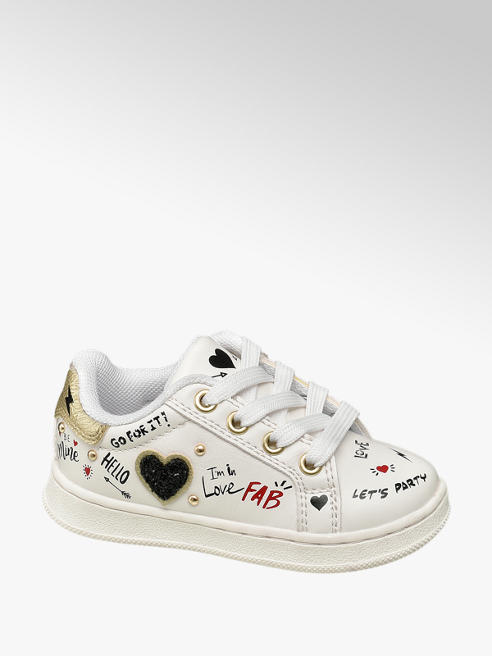 Cupcake Couture Witte sneaker print