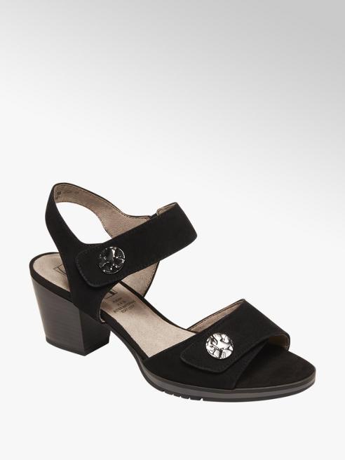 Medicus Zwarte sandalette suede