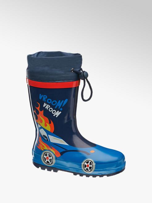 Cortina Blauwe regenlaars aantrekkoord