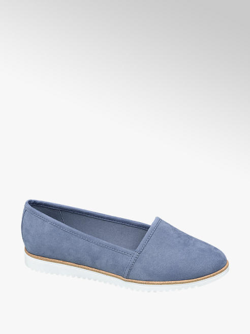 Graceland Lichtblauwe loafer