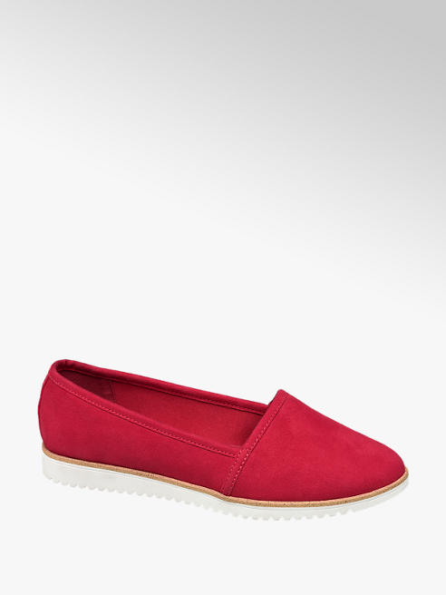 Graceland Rode loafer