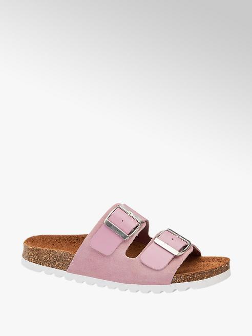 Vero Moda Roze slipper gespen