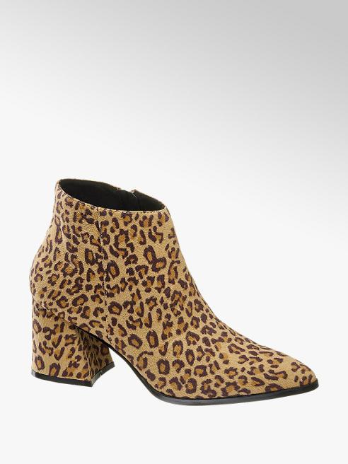 Leopard enkellaars Vero Moda