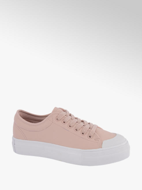 Vero Moda Roze sneaker plateauzool Vero Moda