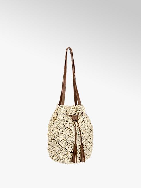 Graceland Beige shopper schelp