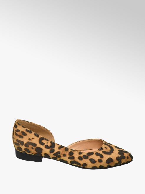 Graceland Leopard ballerina open geleng