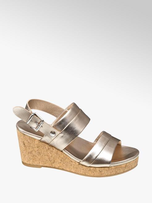 Graceland Gouden sandalette gesp
